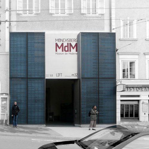 Eingangsportal | Kunst am Bau Eva Schlegel