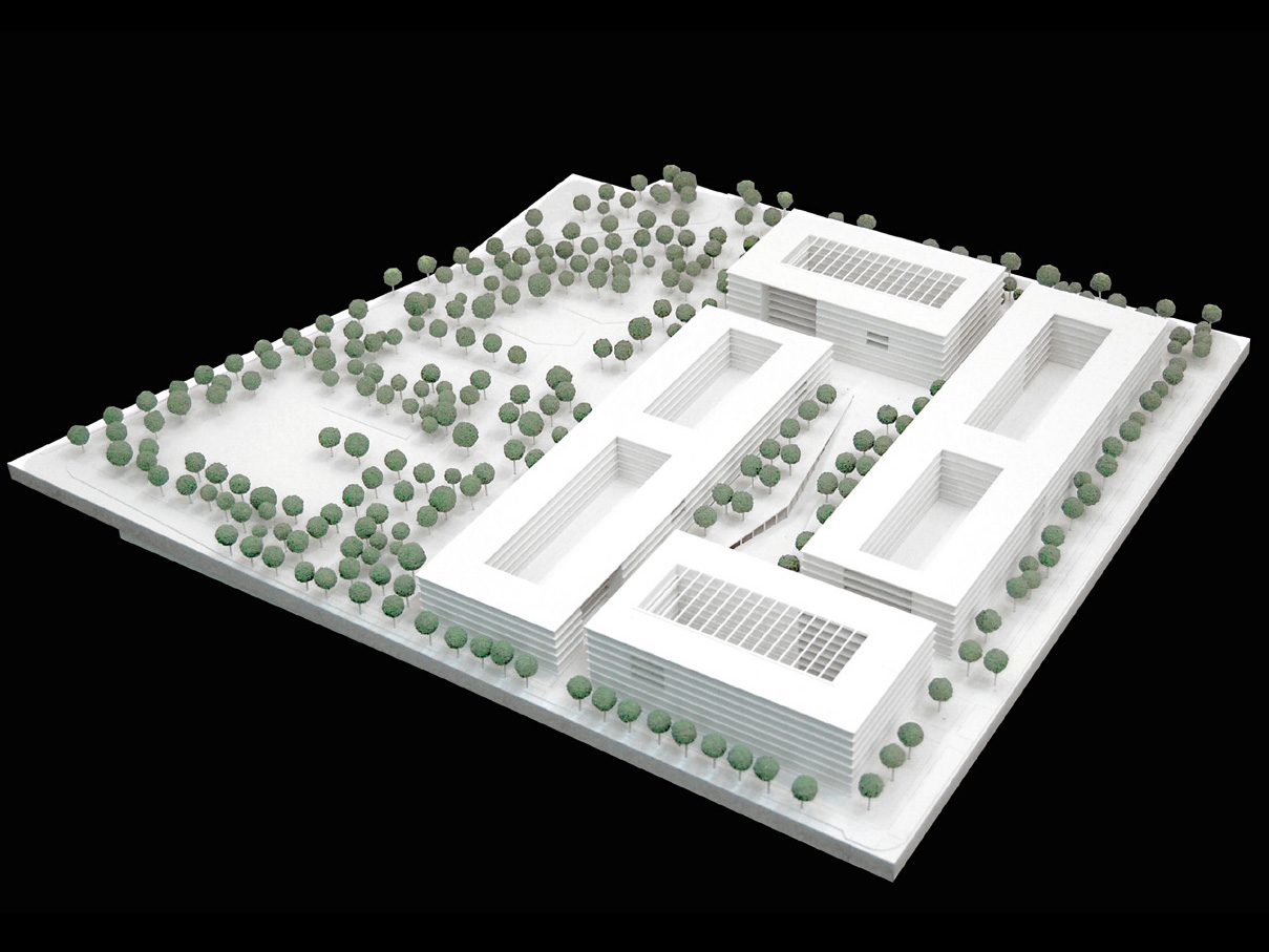 Modell-Wettbewerb-Steuerverwaltung-in-Muenchen-Wettbewerb-2.Preis-2008-Friedrich-Poerschke-Zwink-Architekten