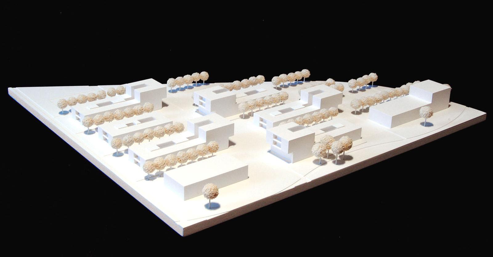 Modell-Neubau-eines-Studentenwohnheims-in-Augsburg-Wettbewerb-2009-5.Preis-©-Friedrich-Poerschke-Zwink-Architekten