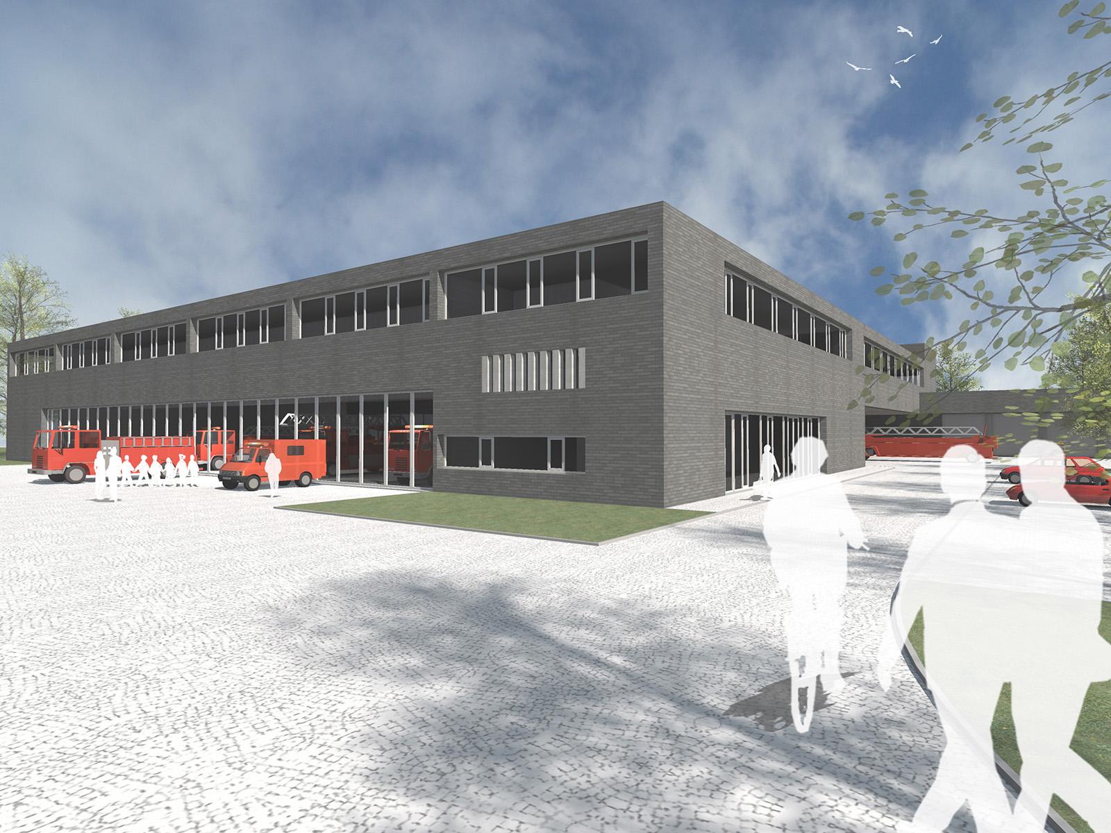 Neubau-Feuerwache-6-Muenchen-Perspektive-Friedrich-Poerschke-Zwink-Architekten-Muenchen