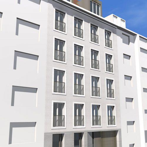 Fassadenstudie2-Neubau-Linprunstrasse-5-80335-München-Maxvorstadt-2015-Friedrich-Poerschke-Zwink-Architekten-BDA