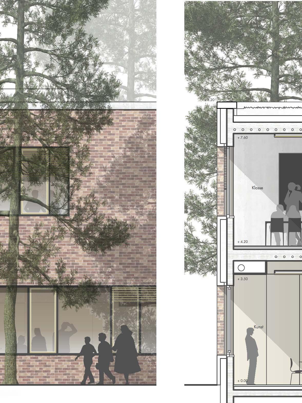 Detail-Wettbewerb-Bildungscampus-Loecknitz-Anerkennung-2016-© Friedrich-Poerschke-Zwink-Architekten