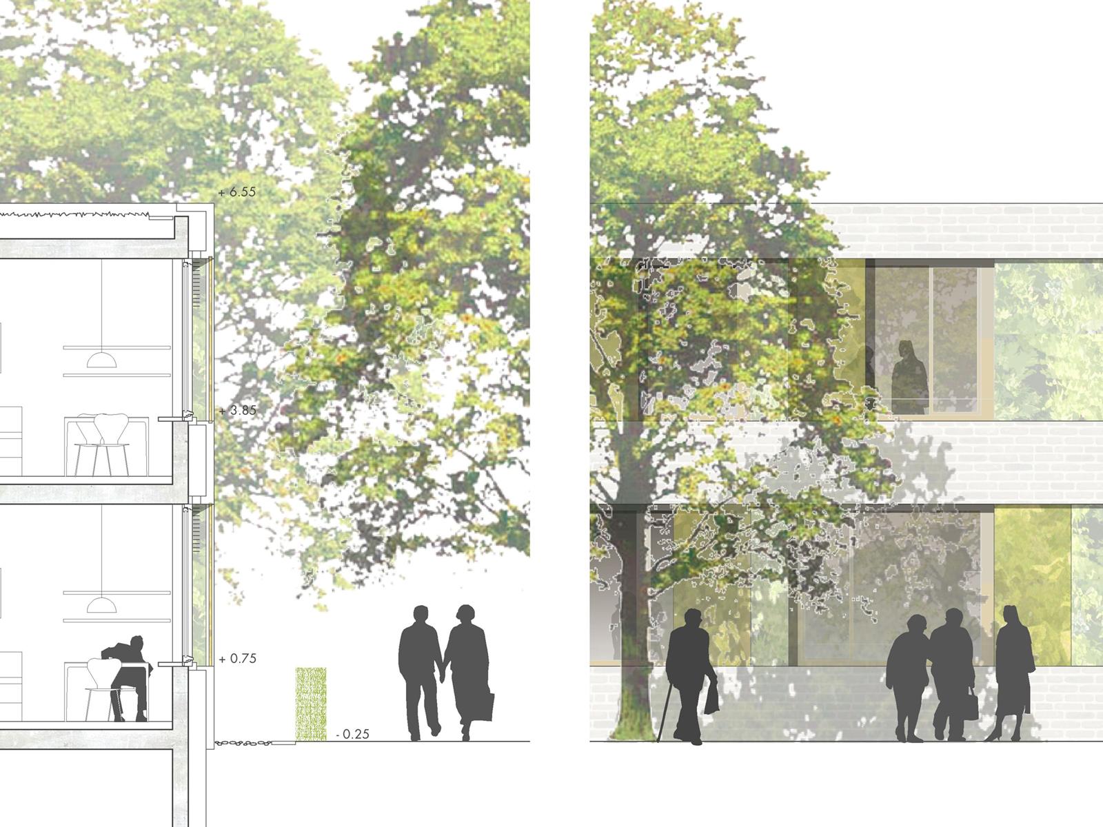 Detail-Wettbewerb-Neubau-Seniorenzentrum-Gundelsheim-2.Preis-2010-© Friedrich-Poerschke-Zwink-Architekten