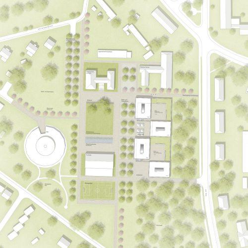 Lageplan-Wettbewerb-Bildungscampus-Loecknitz-Anerkennung-2016-© Friedrich-Poerschke-Zwink-Architekten.jpg