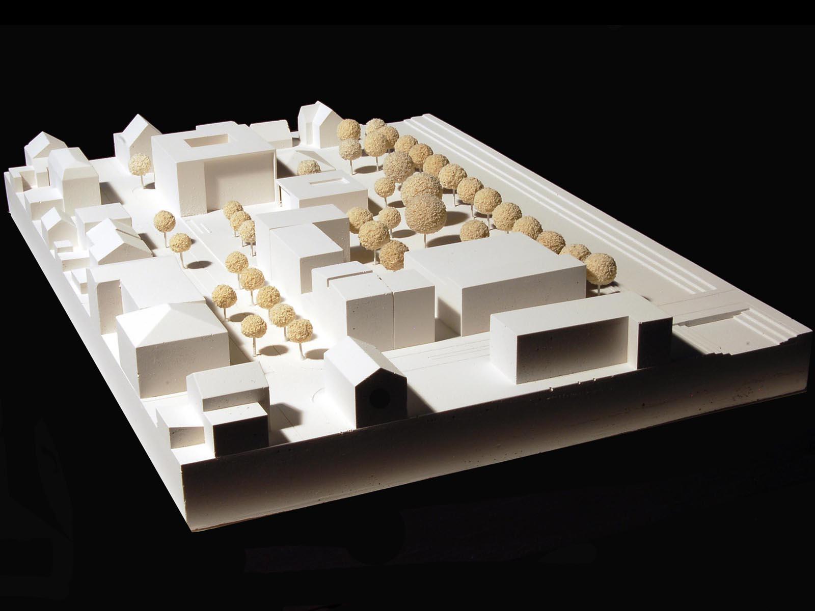Modell-Neubau-Rathaus-Kolbermoor-Wettbewerb-4.Preis-2010-© Friedrich-Poerschke-Zwink-Architekte