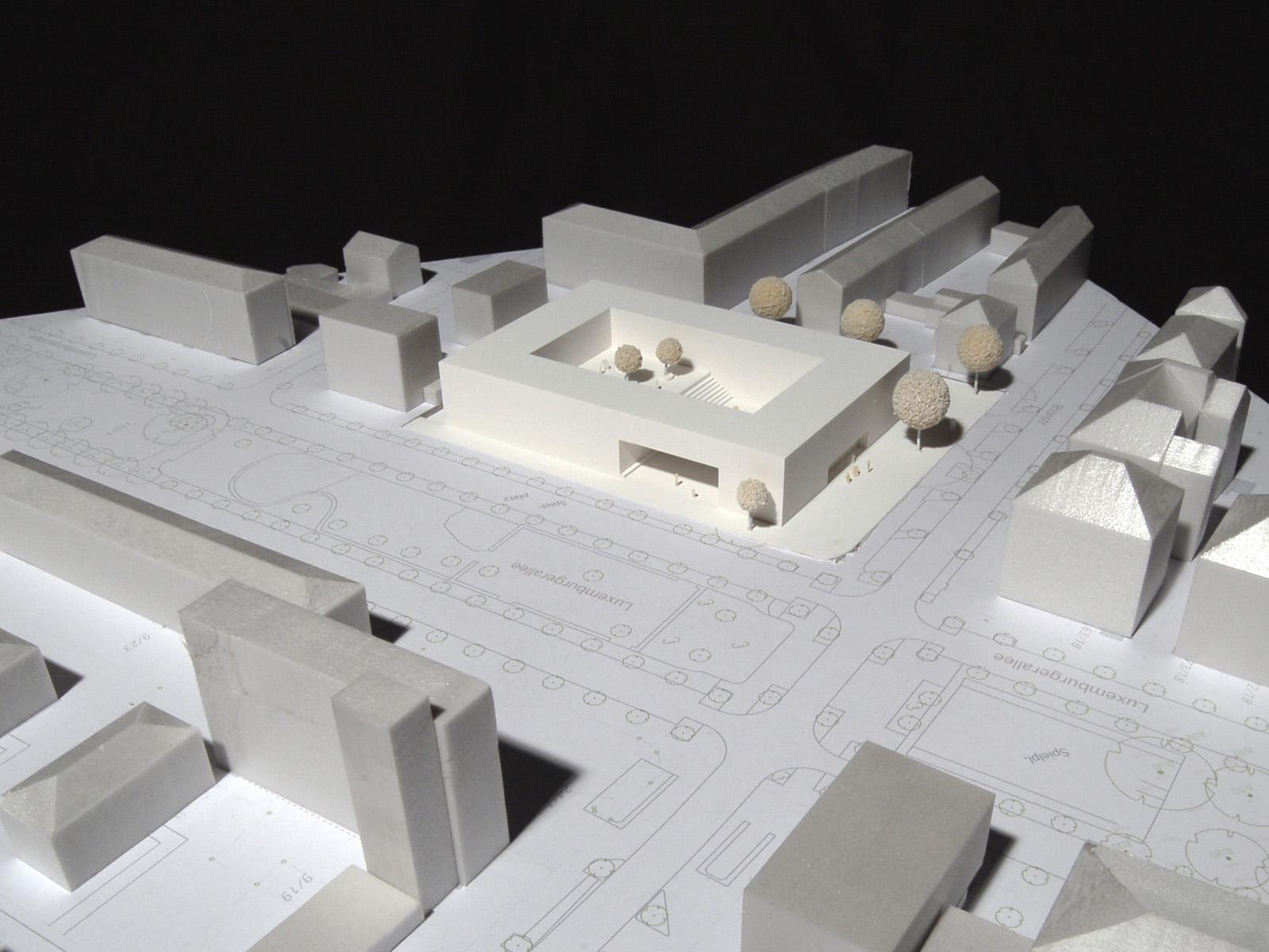 Neubau dahlmannschule frankfurt am main friedrich for Stellenanzeige stadtplaner