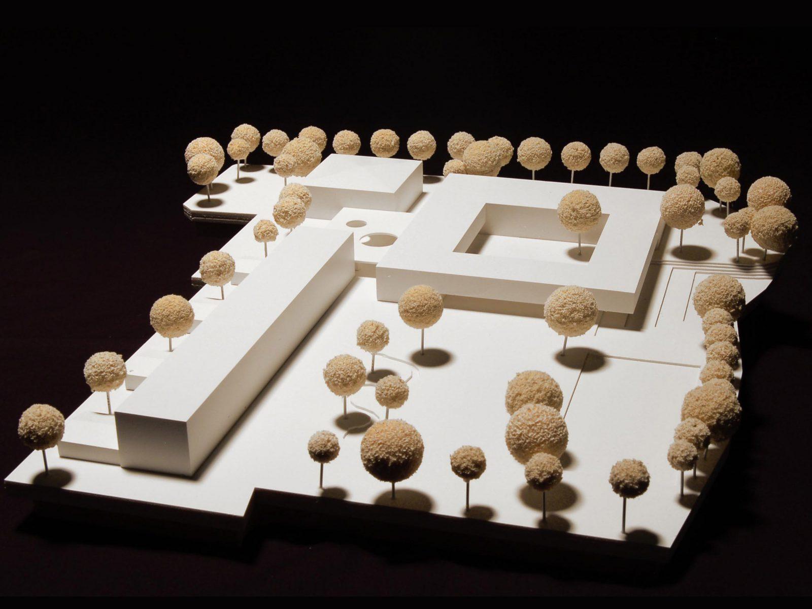 Modell-Wettbewerb-Fritz-Beck-Mittelschule_Landsberg-am-Lech -Anerkennung-2013-© Friedrich-Poerschke-Zwink-Architekten