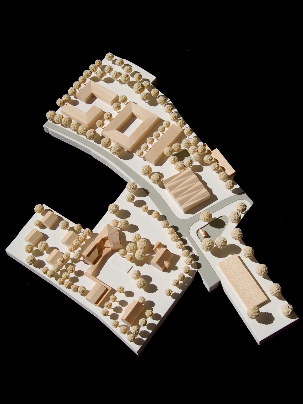 Modell-Wettbewerb-Ortmitte-Neufinsing-Anerkennung-© Friedrich-Poerschke-Zwink-Architekten