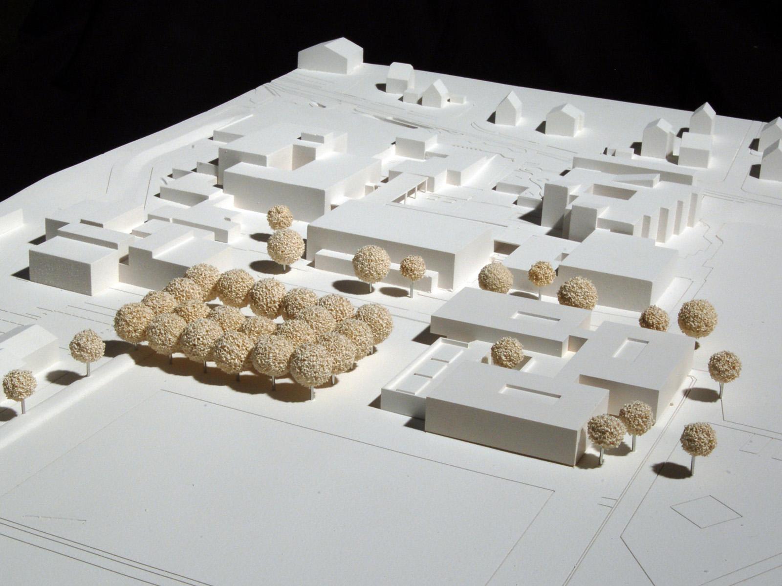 Modell_Neubau Robert-Boehringer-Gemeinschaftsschule-Winnenden-1.Preis-Wettbewerb.2015_© Friedrich-Poerschke-Zwink-Architekten