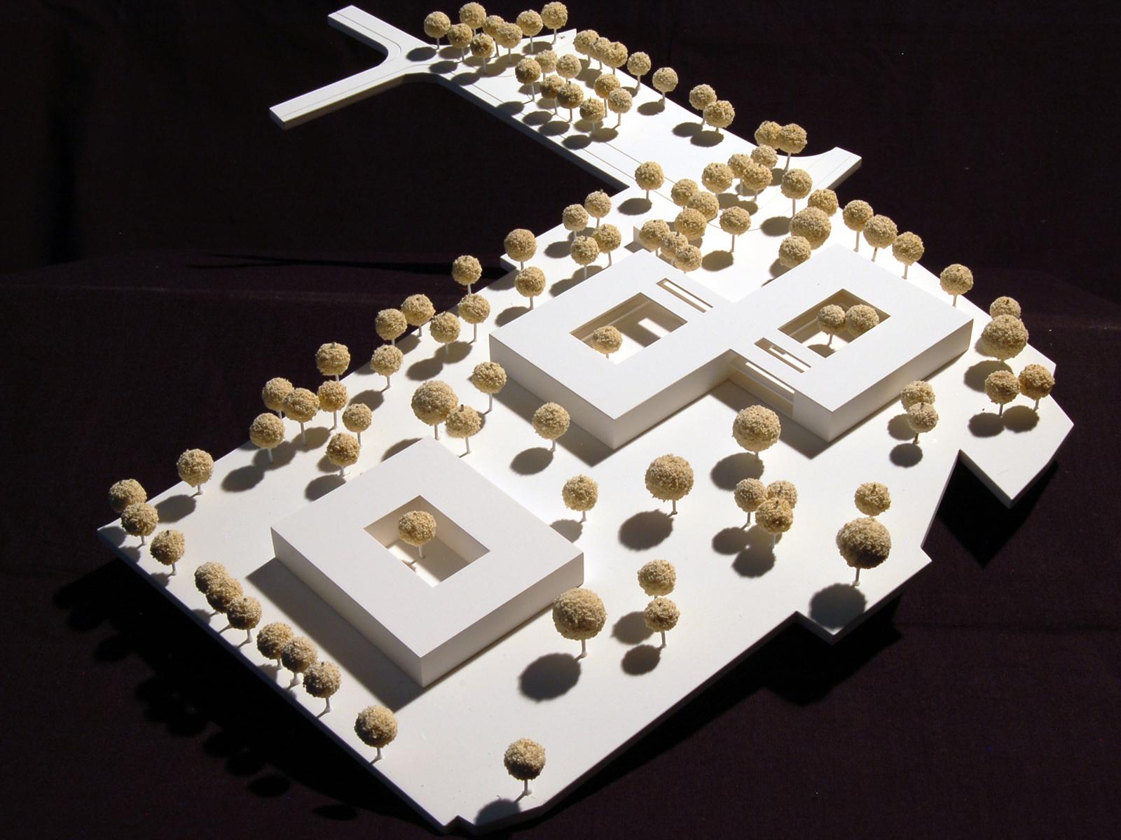 Modellfoto-Wettbewerb-Neubau-Seniorenzentrum-Gundelsheim-2.Preis-2010-© Friedrich-Poerschke-Zwink-Architekte1