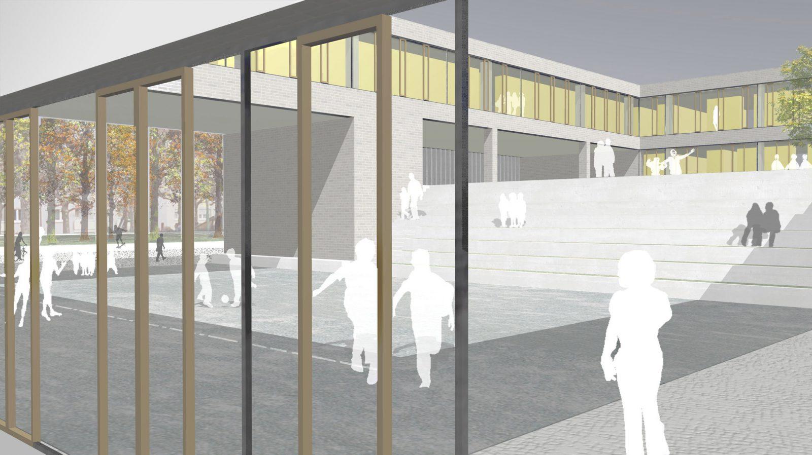 Perspektive-Wettbewerb-Dahlmannschule-Frankfurt-am-Main-4.Preis-2011-© Friedrich-Poerschke-Zwink-Architekten