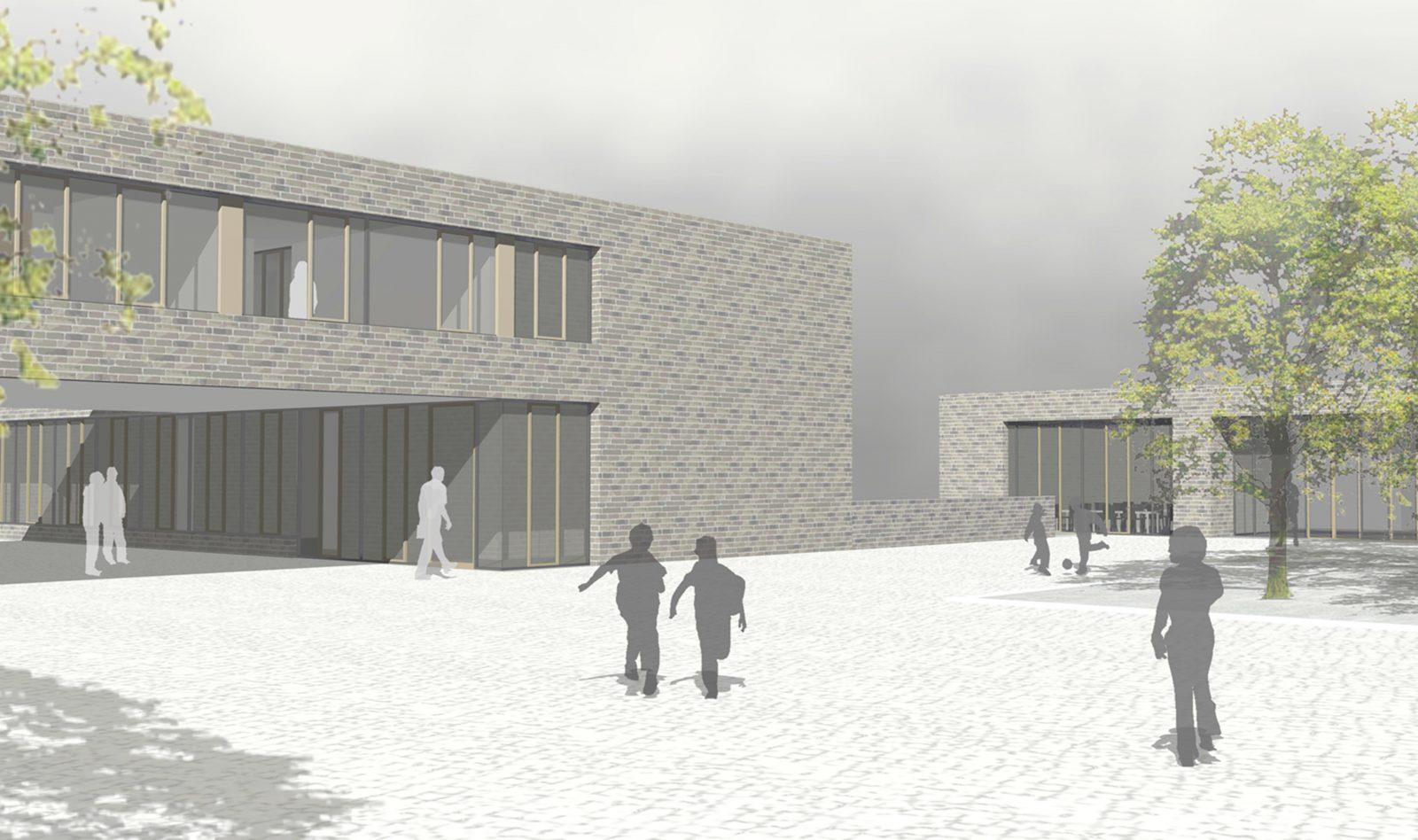 Perspektive-Wettbewerb-Grundschule Bad Soden-4.Preis-2011-© Friedrich-Poerschke-Zwink-Architekten