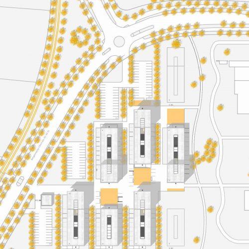 Lageplan Studentenwohnheim