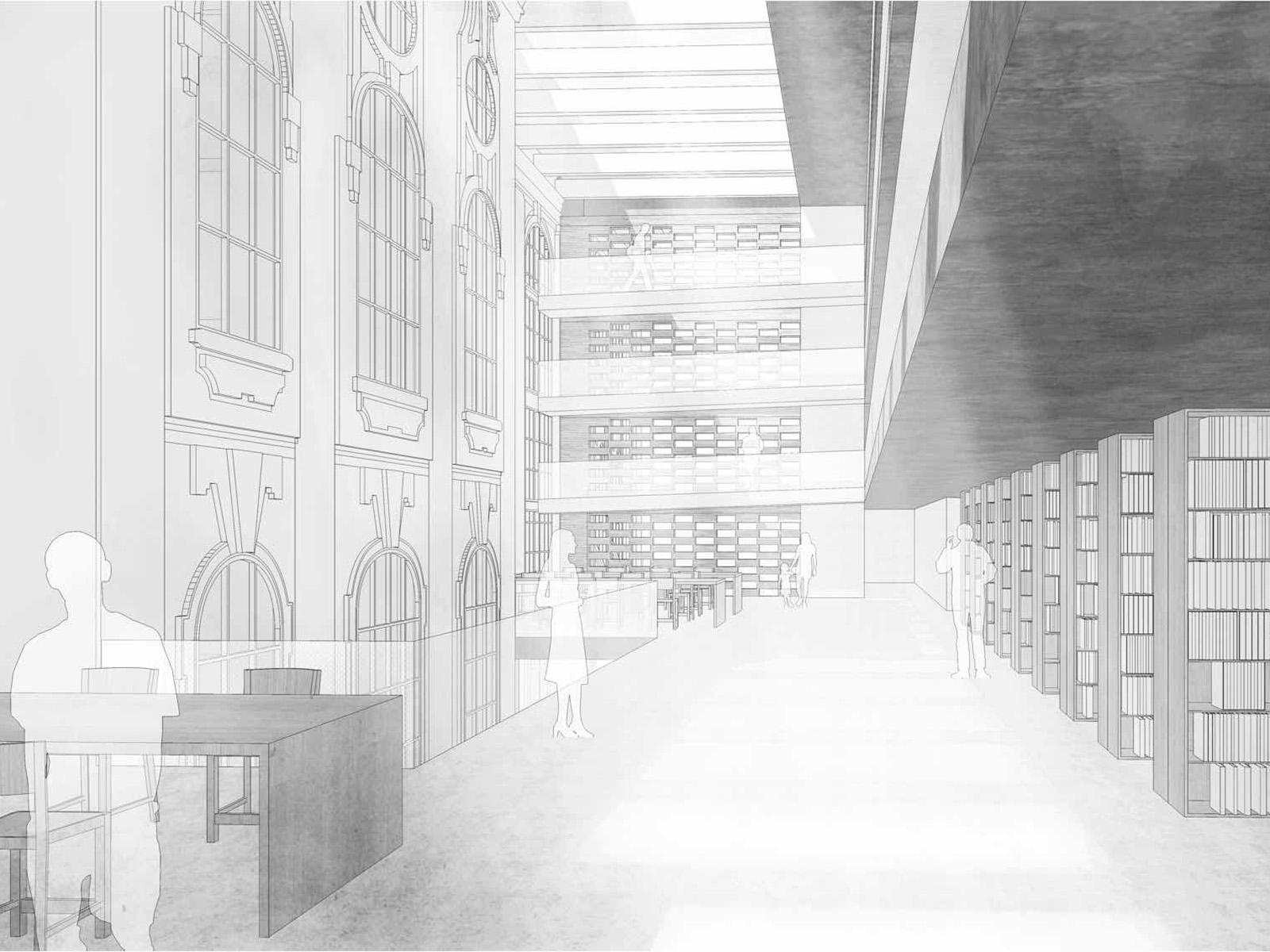 perspektive2-staats-und-stadtbilblothek-augsburg-wettbewerb-2016-2-preis-friedrich-poerschke-zwink-architekten-stadtplaner-mit-kleinsa-cc-88nger-architekten