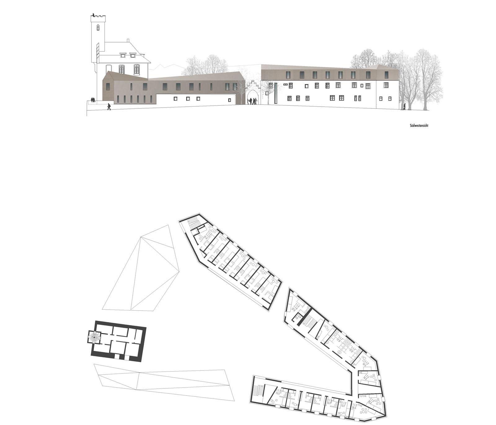 Kulturraum_Veitsburg-Ravensburg_Grundriss_Friedrich-Poerschke-Zwink-Architekten-Muenchen