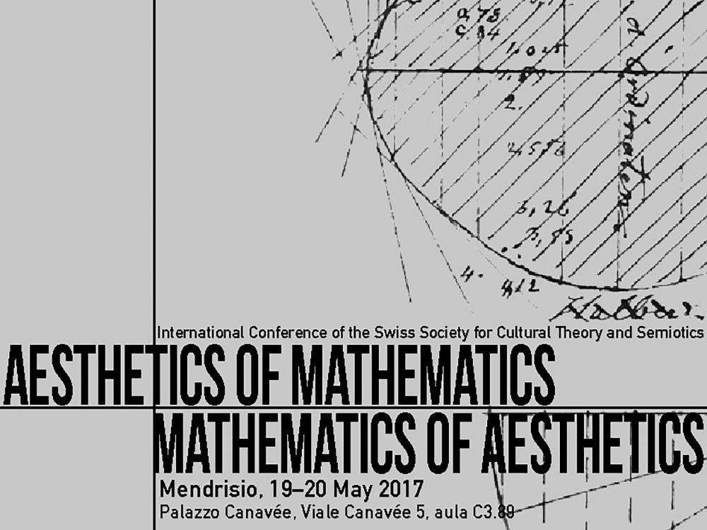 2017_Conference_Mendrisio_Aesthetics_of_Mathematics_bw