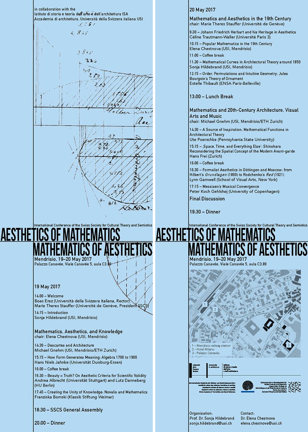 2017_Conference_Mendrisio_Aesthetics_of_Mathematics_flyer