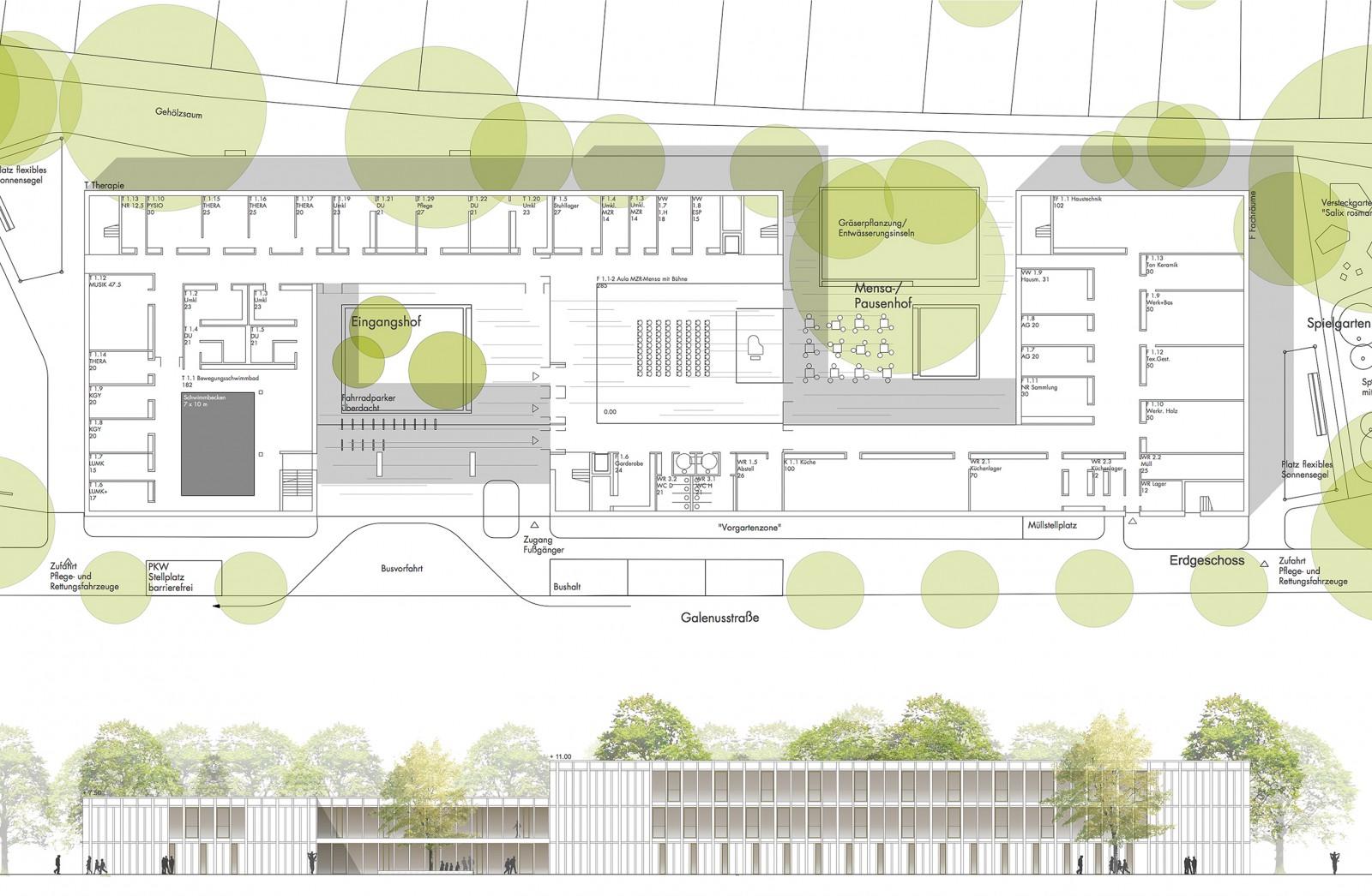 Friedrich-Poerschke-Zwink-Architeken_Wettbewerb_Panke_Schule_Grundriss_Ansicht_2017