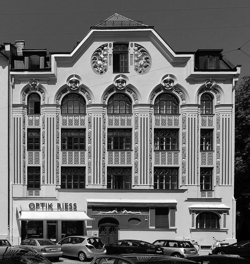 Friedrich Poerschke Zwink Architekten, Ainmillerstr. 22, München-Schwabing